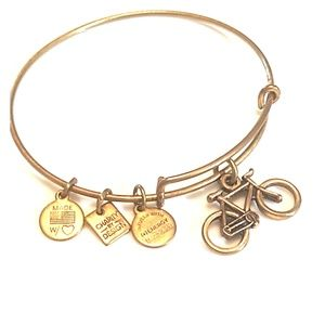 Alex and Ani Bicycle 🚲 charm bracelet